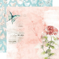 Simple Stories - Simple Vintage Cottage Fields Collection - 12 x 12 Double Sided Paper - Dream More