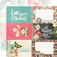 Simple Stories - Simple Vintage Cottage Fields Collection - 12 x 12 Double Sided Paper - 4 x 6 Elements