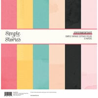 Simple Stories - Simple Vintage Cottage Fields Collection - 12 x 12 Basics Kit