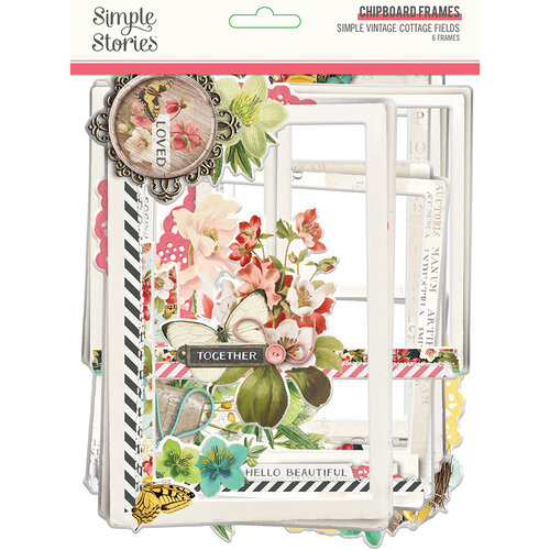 Simple Stories - Simple Vintage Cottage Fields Collection - Chipboard Frames