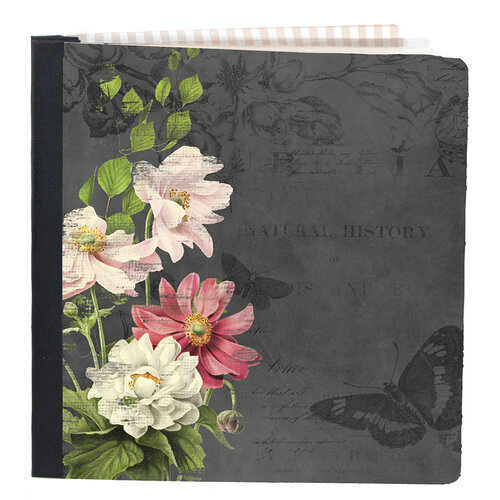 Simple Stories - Simple Vintage Cottage Fields Collection - SNAP Studio Flipbook - 6 x 8 Flipbook - Vintage Floral