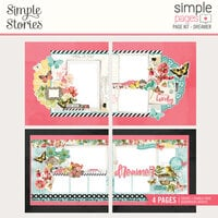 Simple Stories - Simple Pages Collection - Page Kit - Dreamer