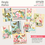 Simple Stories - Simple Vintage Cottage Fields Collection - Card Kit - Hello Lovely