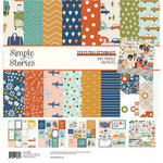 Simple Stories - Safe Travels Collection - 12 x 12 Collection Kit