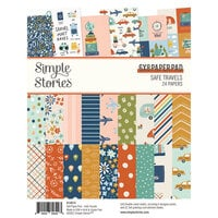 Simple Stories - Safe Travels Collection - 6 x 8 Paper Pad