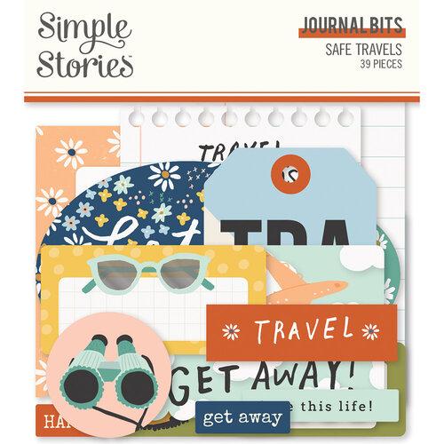 Simple Stories - Safe Travels Collection - Ephemera - Journal Bits