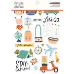 Simple Stories - Safe Travels Collection - Sticker Book
