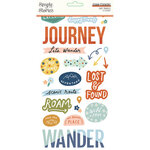Simple Stories - Safe Travels Collection - Foam Stickers