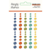 Simple Stories - Safe Travels Collection - Enamel Dots