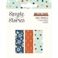 Simple Stories - Safe Travels Collection - Washi Tape