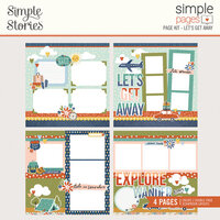 Simple Stories - Simple Pages Collection - Page Kit - Let's Get Away