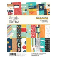 Simple Stories - School Life Collection - 6 x 8 Paper Pad