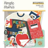Simple Stories - School Life Collection - Ephemera - Bits and Pieces