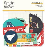 Simple Stories - School Life Collection - Ephemera - Journal Bits and Pieces