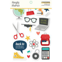 Simple Stories - School Life Collection - Sticker Book