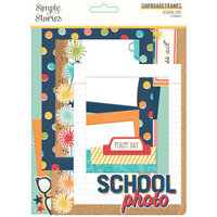 Simple Stories - School Life Collection - Chipboard Frames