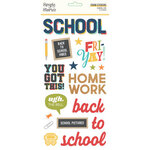 Simple Stories - School Life Collection - Foam Stickers