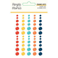 Simple Stories - School Life Collection - Enamel Dots