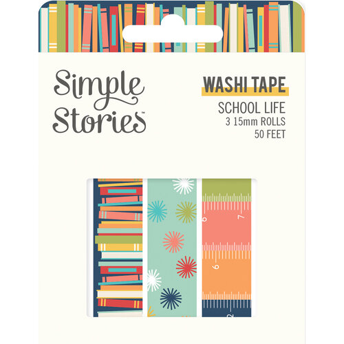 Simple Stories - School Life Collection - Washi Tape