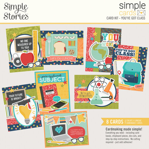 Simple Stories - School Life Collection - Card Kit - You've Got Class