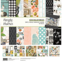 Simple Stories - Simple Vintage Farmhouse Garden Collection - 12 x 12 Collection Kit