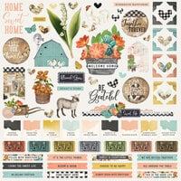 Simple Stories - Simple Vintage Farmhouse Garden Collection - 12 x 12 Cardstock Stickers