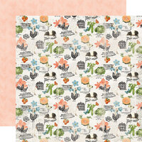 Simple Stories - Simple Vintage Farmhouse Garden Collection - 12 x 12 Double Sided Paper - Farm Fresh