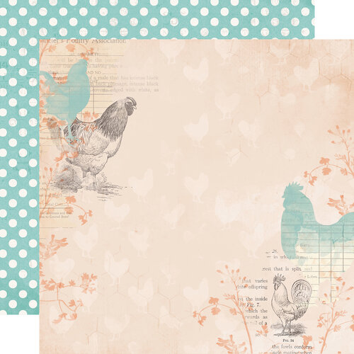 Simple Stories - Simple Vintage Farmhouse Garden Collection - 12 x 12 Double Sided Paper - Humble and Kind