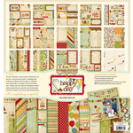 Memory Works - Simple Stories - Happy Day Collection - 12 x 12 Collection Kit