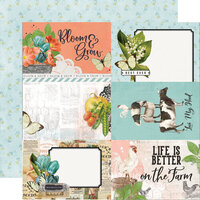 Simple Stories - Simple Vintage Farmhouse Garden Collection - 12 x 12 Double Sided Paper - 4 x 6 Elements