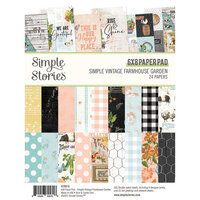 Simple Stories - Simple Vintage Farmhouse Garden Collection - 6 x 8 Paper Pad