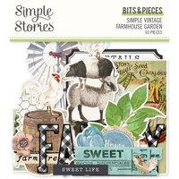 Simple Stories - Simple Vintage Farmhouse Garden Collection - Ephemera - Bits and Pieces