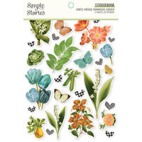 Simple Stories - Simple Vintage Farmhouse Garden Collection - Sticker Book