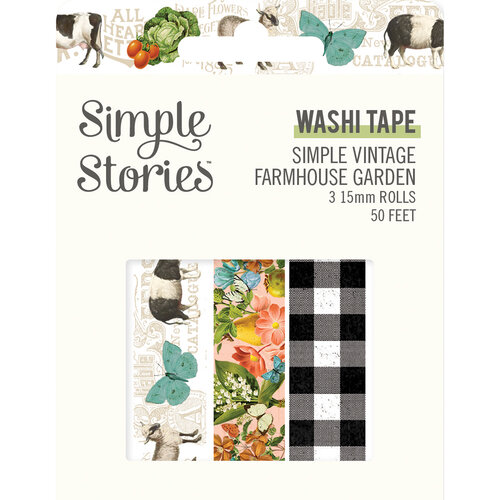 Simple Stories - Simple Vintage Farmhouse Garden Collection - Washi Tape
