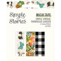 Simple Stories - Simple Vintage Farmhouse Garden Collection - Washi Tape