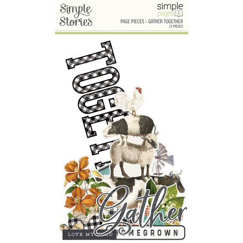 Simple Stories - Simple Pages Collection - Page Pieces - Gather Together
