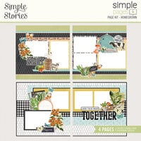 Simple Stories - Simple Pages Collection - Page Kit - Homegrown
