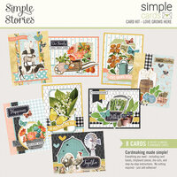 Simple Stories - Simple Cards - Card Kit - Love Grows Here