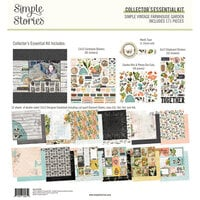 Simple Stories - Simple Vintage Farmhouse Garden Collection - Collector's Essential Kit