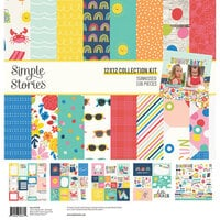 Simple Stories - Sunkissed Collection - 12 x 12 Collection Kit