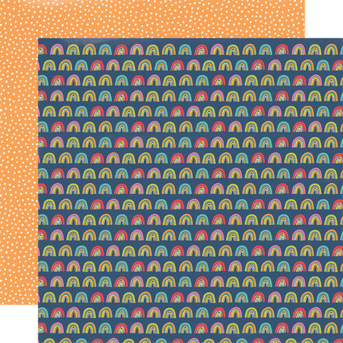 Simple Stories - Sunkissed Collection - 12 x 12 Double Sided Paper - Summer Fun