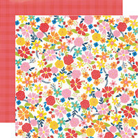 Simple Stories - Sunkissed Collection - 12 x 12 Double Sided Paper - Sunny Days