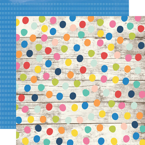 Simple Stories - Sunkissed Collection - 12 x 12 Double Sided Paper - Fun and Sun