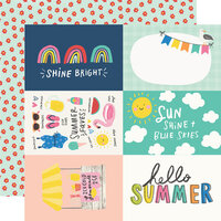 Simple Stories - Sunkissed Collection - 12 x 12 Double Sided Paper - 4 x 6 Elements