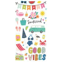 Simple Stories - Sunkissed Collection - 6 x 12 Chipboard Stickers