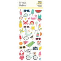 Simple Stories - Sunkissed Collection - Puffy Stickers