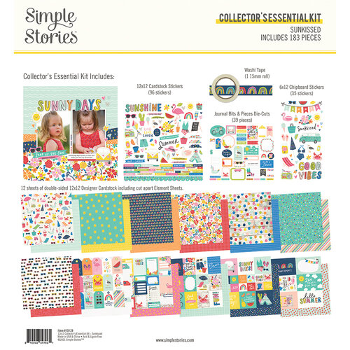 Simple Stories - Sunkissed Collection - 12 x 12 Collector's Essential Kit