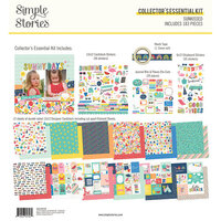 Simple Stories - Sunkissed Collection - Collector's Essential Kit