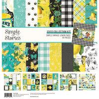 Simple Stories - Simple Vintage Lemon Twist Collection - Collection Kit