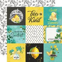 Simple Stories - Simple Vintage Lemon Twist Collection - 12 x 12 Double Sided Paper - 4 x 4 Elements